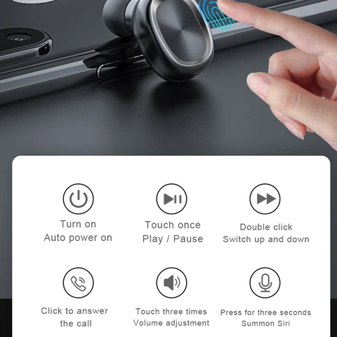 Space Capsule Bluetooth Earphone - Nohprec Experience
