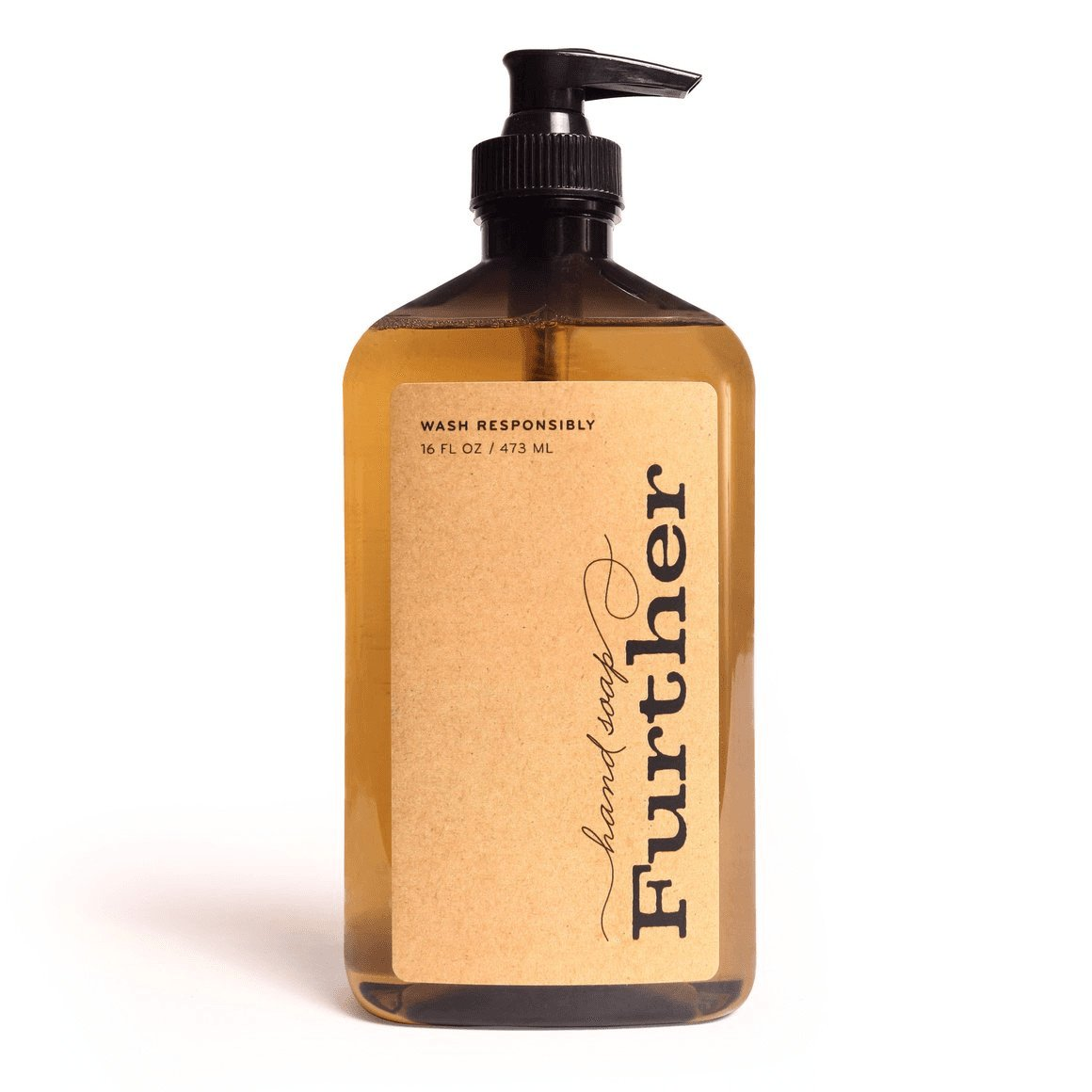 Further Fresh Smelling Glycerin Liquid Hand Soap 16oz Hand Soap - Fresh Smelling Sustainable Glycerin Soap - Glycerin Hand Soap - Glycerin Liquid Hand Soap Clean Your Hands & Freshen Your Conscience and Inspire Your Soul - Nohprec Experience