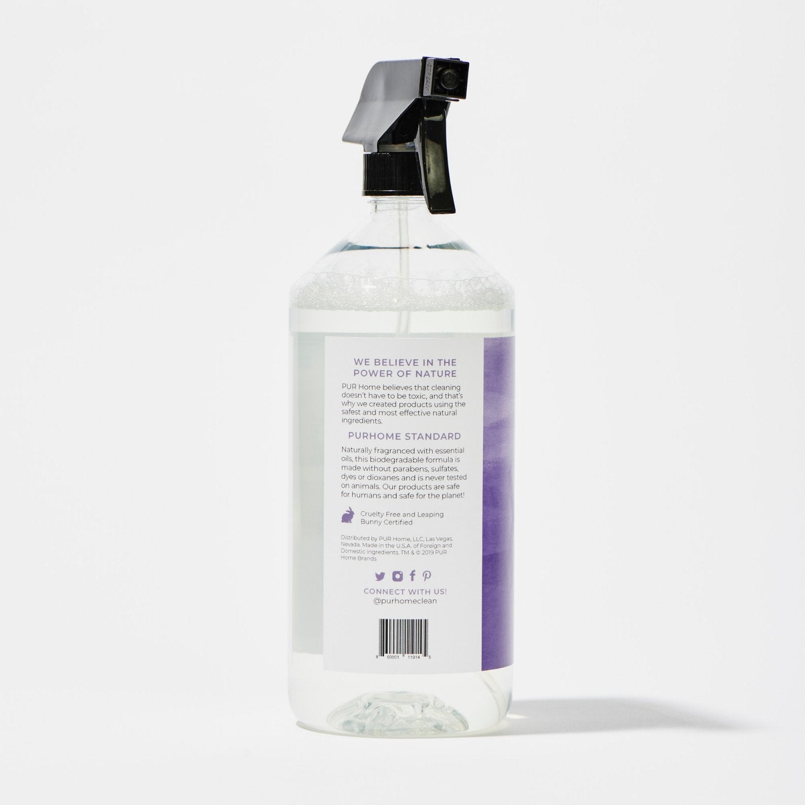 34 oz Multi-Surface Cleaner | Multi-Surface Cleaner Spray | Multi-Surface Cleaner Lemon | Lavender Multi-Purpose Cleaner | Spray Bottle, All-Purpose Household Cleaners | Multipurpose Cleaner | Organic Natural All-Purpose Cleaner
