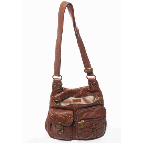 The Aria Crossbody - Brown | bags | wallet | totebag | crossbody - Nohprec Experience