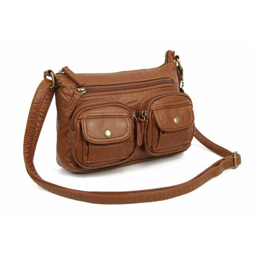 The Bethany Crossbody - Brown | bags | wallet | totebags | crossbody | handbags | backpacks | gifts | accessories - Nohprec Experience