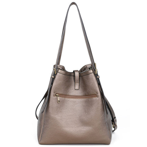 The Heidi Hobo - Bronze | bags | wallet | totebags | crossbody - Nohprec Experience