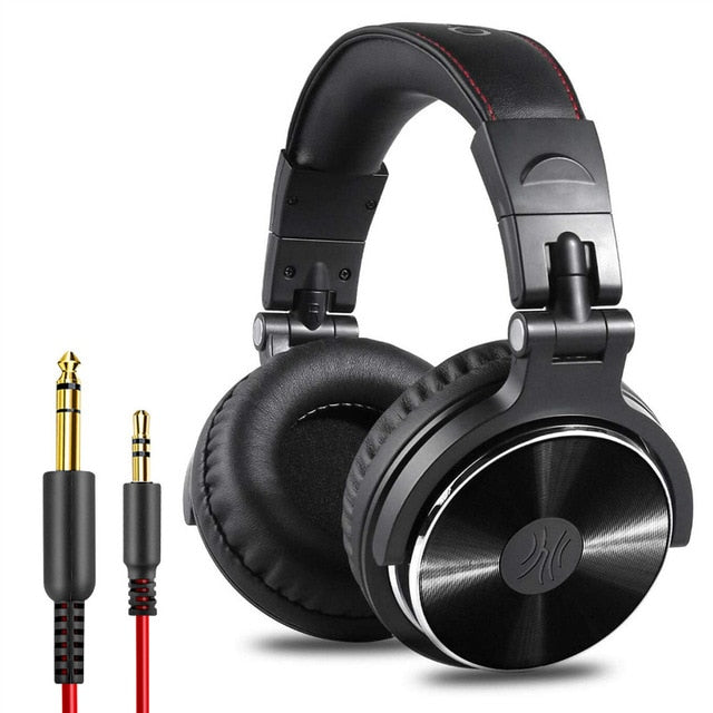 Oneodio Headphones Professional Studio Dynamic Stereo DJ Headphone With Microphone HIFI Wired Headset Monitoring For Music Phone - Nohprec Experience