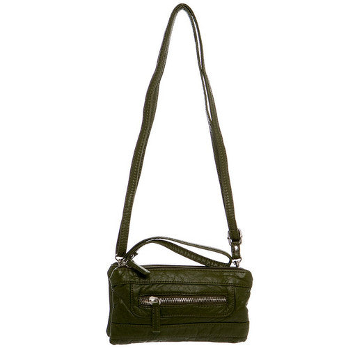 The Classical Three Way Wristlet Xbody -Army Green | bags | wallet | totebags | crossbody - Nohprec Experience