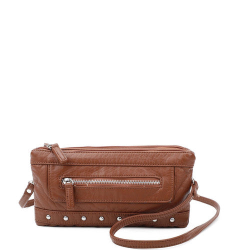 Malie 3 Way Wrislet - Brown | bags | wallet | totebags | crossbody - Nohprec Experience