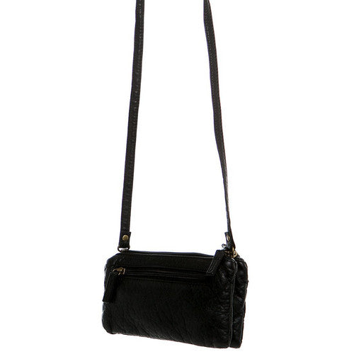 The Classical Three Way Wristlet Xbody - Black | bags | wallet | totebags | crossbody - Nohprec Experience