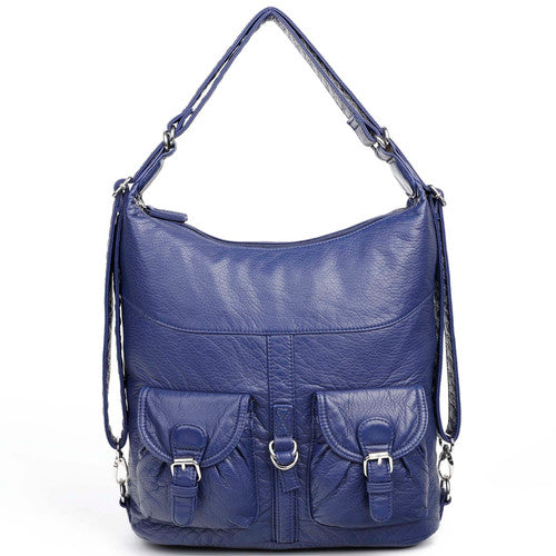 Janey Jane Convertible - Navy Blue | bags | wallet | totebags | crossbody - Nohprec Experience