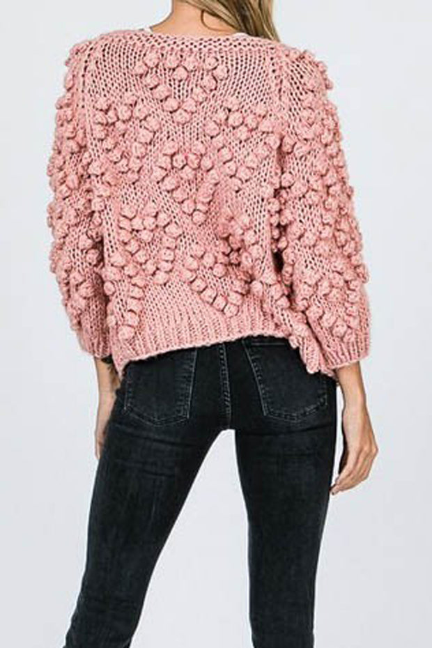 The Connie Pom Cardigan-Sweater-Style Trolley