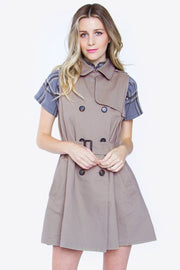 Khaleesi Trench Dress-Dress-Style Trolley