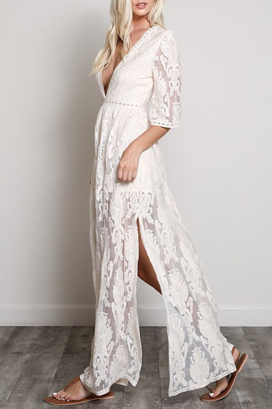 The Cynthia Lace Maxi-Dress-Style Trolley