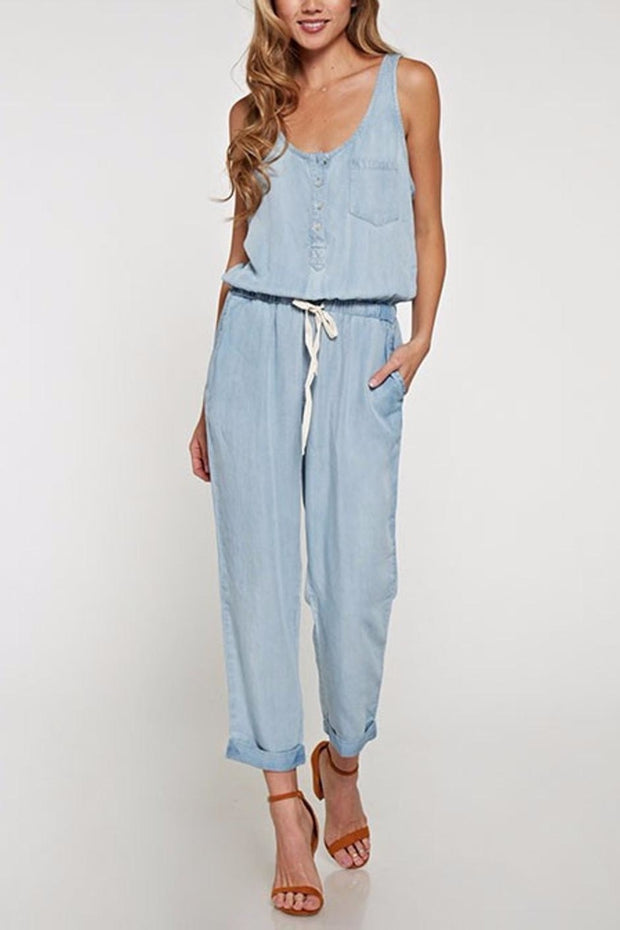 The Erin Racer Back Jumpsuit-Jumpsuit-Style Trolley