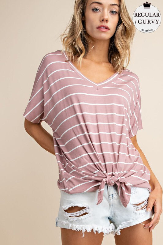 Alex Striped Tee-Top-Style Trolley