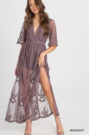 Lexi Embroidered Lace Romper-Dress-Style Trolley