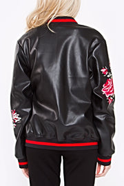 The Layne Embroidered Bomber-Jacket-Style Trolley