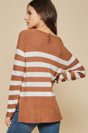 The Breck Striped Sweater-Sweater-Style Trolley