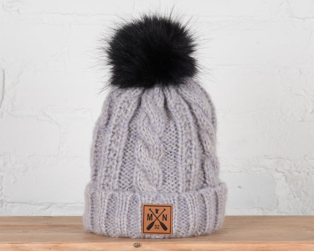 Belmont Cable Knit Beanie