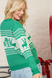 Festive holiday sweater-Sweater-Style Trolley