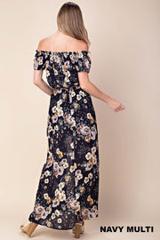 Jaimie Floral Maxi Romper-Dress-Style Trolley
