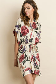 Beck Blooming Kimono Dress-Dress-Style Trolley