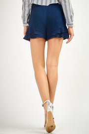 The Abigail Ruffle Shorts-Shorts-Style Trolley