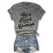 Be A Nice Human Tee-T-shirt-Style Trolley