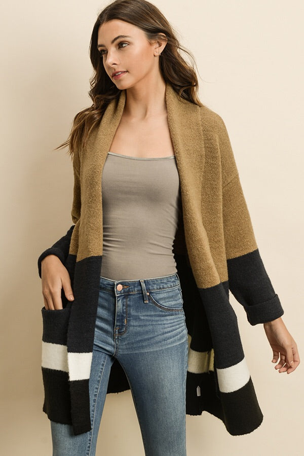The Natalie Shawl Cardigan-Sweater-Style Trolley