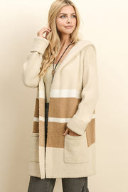 The Anne Colorblock Cardigan-Sweater-Style Trolley
