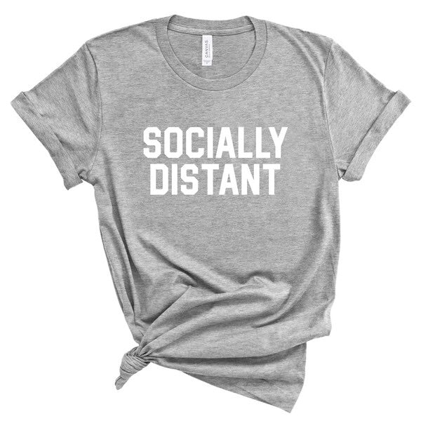 Socially Distant Unisex Tee-Style Trolley