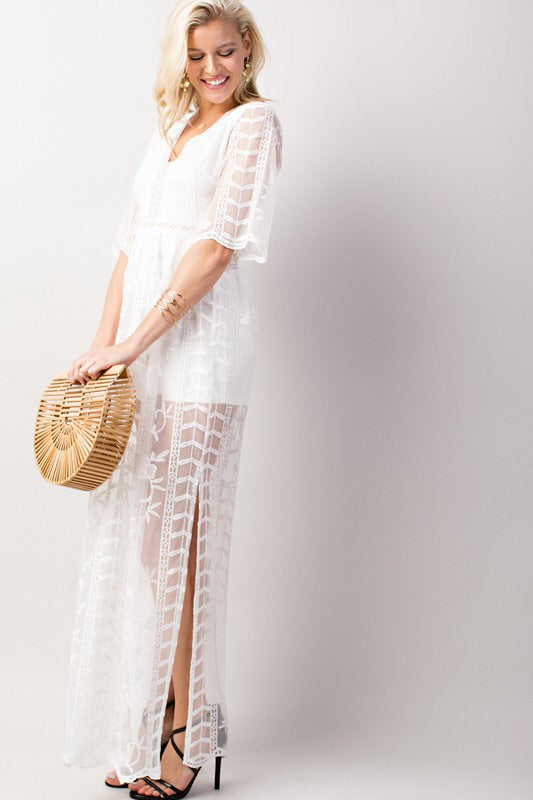 Adylene Lace Maxi-Dress-Style Trolley