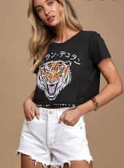Duran Duran Tiger Crop Tee-T-shirt-Style Trolley