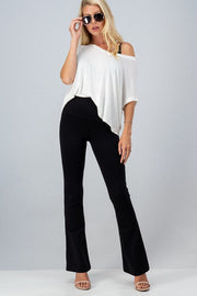 Boot Cut Yoga Pants-Bottoms-Style Trolley