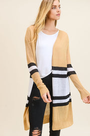 Bridget Striped Cardigan-Sweater-Style Trolley