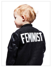 Kid's Feminist Varsity Jacket-Style Trolley