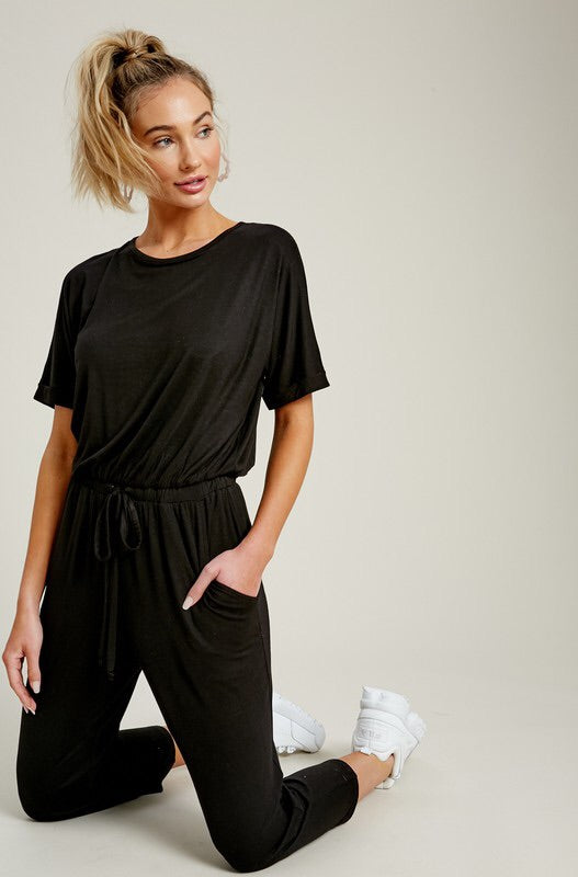 The Brooke Cropped Jumpsuit-Jumpsuit-Style Trolley