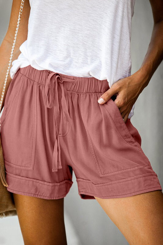 The Lily Cotton Shorts-Shorts-Style Trolley