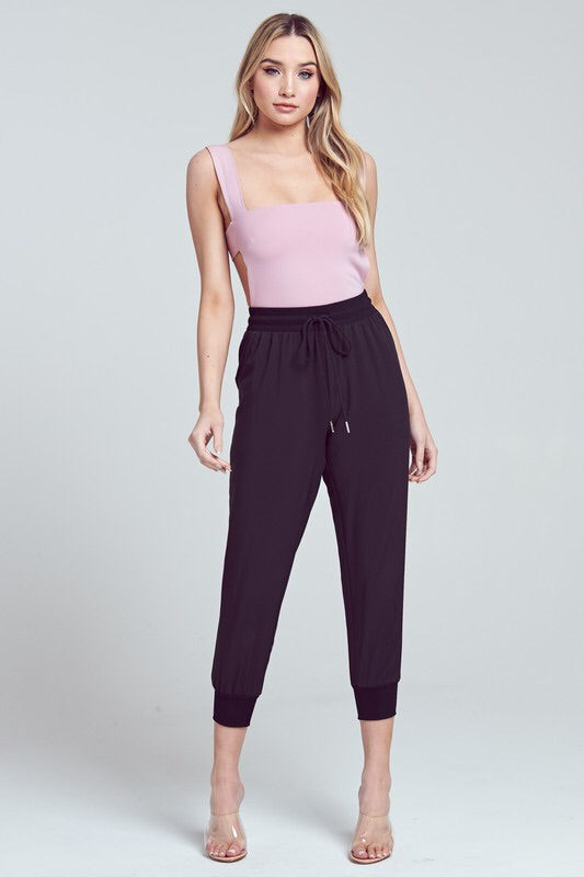 Tamra High Waisted Joggers-Bottoms-Style Trolley
