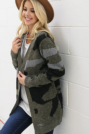 The Camouflage Cardigan-Sweater-Style Trolley