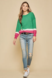 The Abby Jewel Tone Sweater-Sweater-Style Trolley