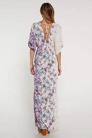 Caitlyn kimono sleeve maxi-Dress-Style Trolley
