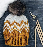 Hand Knit Wool Toques-Hat-Style Trolley