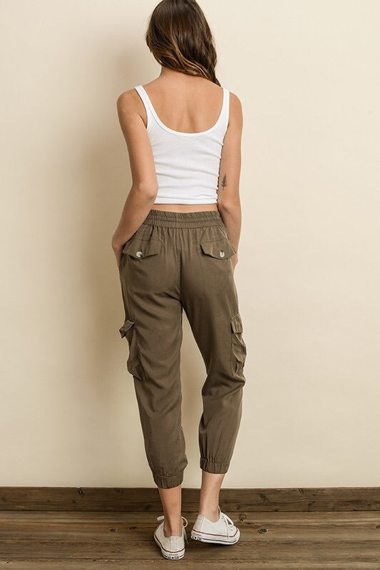 Mineral Washed Cargo Jogger-Bottoms-Style Trolley