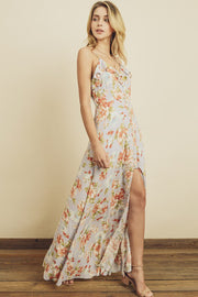 Blossom Button Down Maxi-Dress-Style Trolley