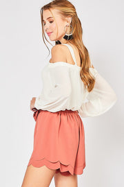 Michelle Open Shoulder Top-Top-Style Trolley