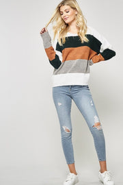 Caitlyn Colorblock Sweater-Sweater-Style Trolley