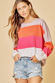 The Willow Colorblock Sweater