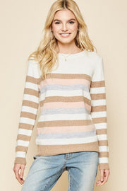 The Katie Color Block Sweater-Sweater-Style Trolley