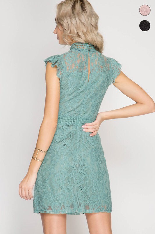 Penny Lace Dress-Dress-Style Trolley