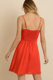 Bella Knot Front Sundress-Dress-Style Trolley