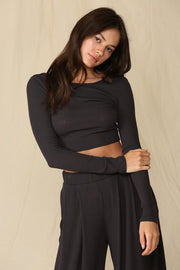 Lightweight Ribbed Knit Loungewear Set (July Pre-Order)-Style Trolley