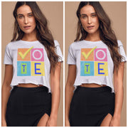VOTE Cropped Tee